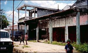 Former colonial buildings