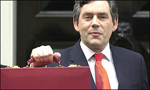 Chancellor Gordon Brown