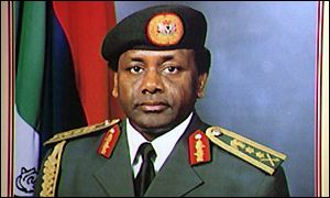Former Nigerian military ruler General Sani Abacha