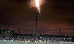 A night game at Sydney Cricket Ground