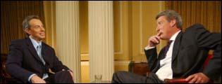 Tony Blair and Jeremy Paxman
