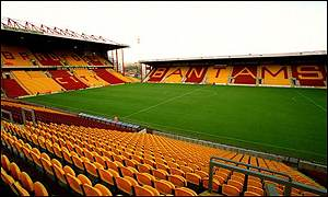 Bradford's Valley Parade stadium