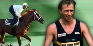Mark Croasdale and horse graphic