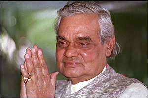 Atal Behari Vajpayee began his political career during the British Raj