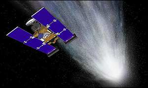Stardust will collect material from a comet and bring it back to Earth