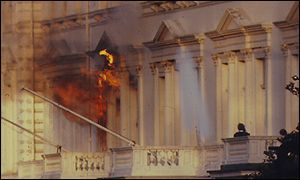 fire at the Iranian embassy