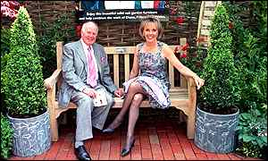 Desmond Wilcox and Esther Rantzen