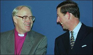 Archbishop Carey and Prince Charles