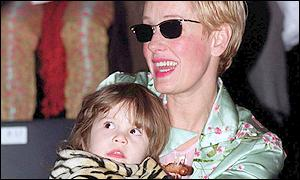 Paula Yates and her daughter Tiger Lily