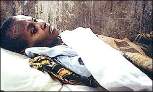 Ugandan Aids victim