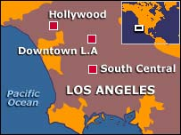 Bbc News Americas La Trouble Spot Wiped From Map