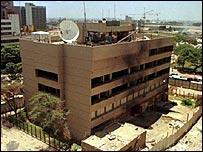BBC NEWS | Africa | US re-opens Kenyan embassy