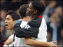 BBC SPORT | Football | FA Cup | Fulham 2-1 Cheltenham
