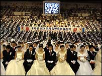 Unification Church mass wedding blessing in South Korea