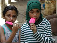 Children in Ain al-Hilweh camp in Lebanon