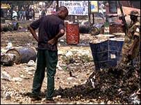 На месте беспорядков в Нигерии