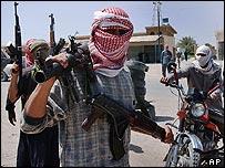 Insurgents in Falluja
