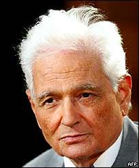 BBC NEWS | Europe | Deconstruction icon Derrida dies