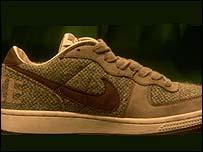 Shoemaker Nike's fling with Harris Tweed