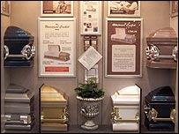 BBC NEWS | Business | Low-cost coffins hit Costco
