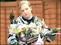 Bbc News Uk England Suffolk Motocross Girl