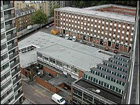Chelsea Barracks, pic from MoD