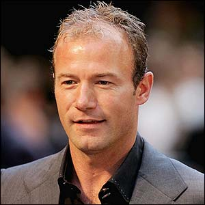 Shearer - Now boss and how happy we are to have him