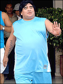 Bbc Sport Football Maradona Has Surgery On Stomach