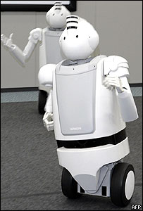 Hitachi's Emiew, the fastest humanoid robot