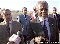 Image of UN Secretary General Kofi Annan