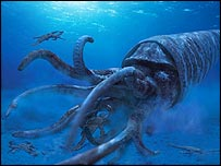 Giant Prehistoric Sea Creatures deep sea creature