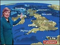 Scotland Weather Map.Bbc News Uk Scotland New Bbc Weather Map Causes Storm