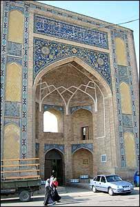Barak Khana, the base of the Mufti of Uzbekistan