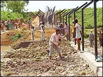 Tripura border fence