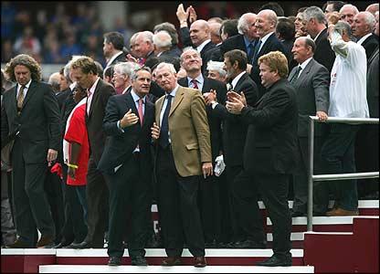 Farewell to Highbury - NO FOOT...