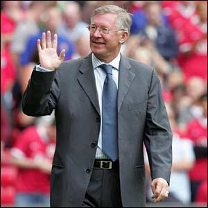 Sir Alex Fergusson United Reds