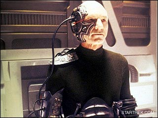 Captain Picard is assimilated