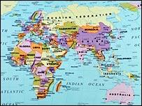 Location Of Uk On World Map.Bbc News Uk British Pupils Cannot Locate Uk
