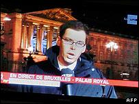 Viewers fooled by 'Belgium split'