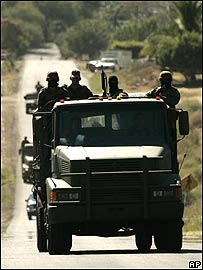 militares michoacan