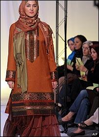 Iran fashion show
