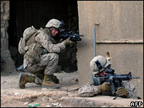 Two US marines in western Iraq