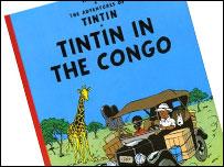 Bid to ban 'racist' Tintin book