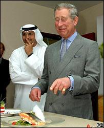 BBC NEWS   UK   Royal rebuke over McDonald's food