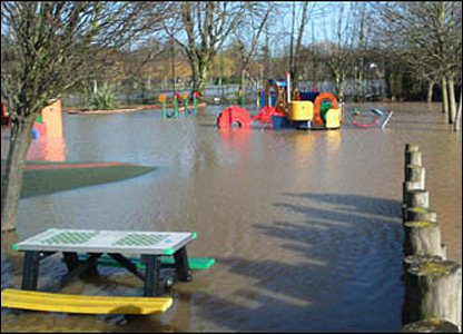 Bbc News In Pictures In Pictures Midlands Floods