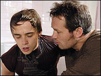 David Platt (Jack Shepherd) and Charlie Stubbs (Bill Ward)