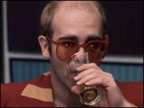 Balding Elton John