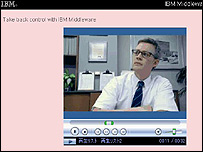 Photo of IBM's new media player