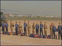 Navy crew