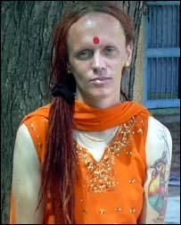 BBC NEWS | South Asia | UK man's new life as Indian 'goddess'